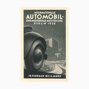 Internationale Automoil - Vintage Advertising on Paper - 1938 1938
