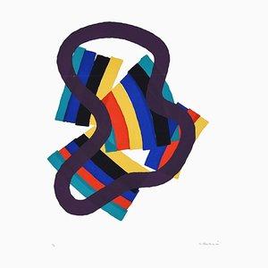 Untitled - Original Siebdruck von Luigi Montanarini - 1976 1970s
