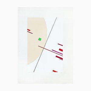 Untitled - Original Lithograph by Luigi Veronesi - 1975/76 1975/76