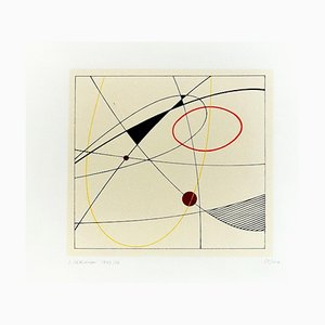 Imprimé Sérigraphie par Luigi Veronesi - 1976 1976