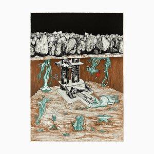 Untitled - Original Lithographie von Henry Maurice - 1973 19973