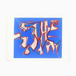 Untitled - Original Siebdruck von Wladimirir Tulli - 1970s 1970s