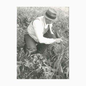 The Shaman of Art - años 80 - Joseph Beuys - Foto vintage de Buby Durini