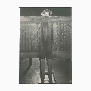 Gene Kelly Behind the Doors - Originales Vintage Foto - 1930er 1930er