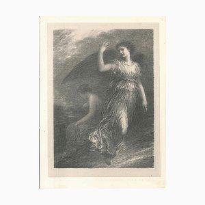 Le Paradis et la Péri - Original Lithographie von Henri Fantin-Latour - 1901 1901