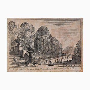 Prospettiva di Fontane detta Roma Antica alla Vigna d'Este a Tivoli - 1646 1646