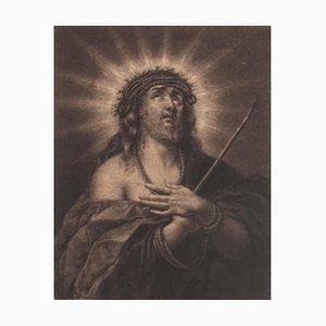 Jesus Christ - Original Etching - 17th Century 17th Century