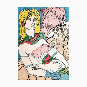 Policoro - Original Lithographie von T. Zancanaro - 1981 1981