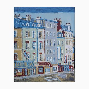 Paris - Original Siebdruck von Orfeo Tamburi - 1980er 1980er