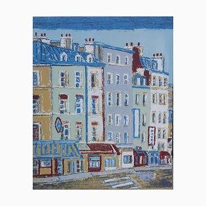 Sérigraphie Originale Paris par Orfeo Tamburi - 1980s 1980s