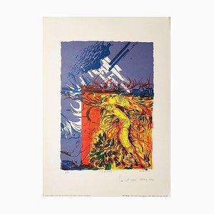 Unter der Reisig - Original Lithographie von G. Ambrogio - 1970 1970