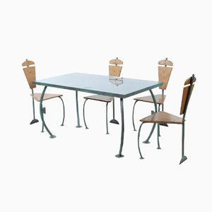 Dining Set by Jos Laugs, 1982