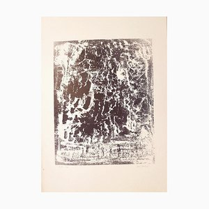 Untitled - Original Lithograph by Vasco Bendini - 1961 1961