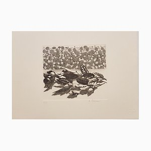 In the Nature - Original Etching by R. Piraino - 1970s 1970s
