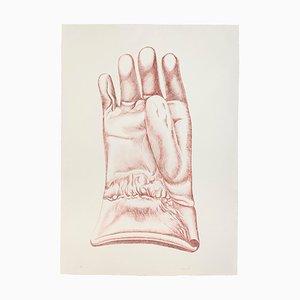 Red Glove - Original Radierung von Giacomo Porzano - 1972 1972