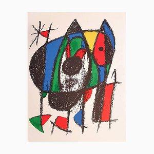 Mirò Lithographe II - Teller V - Original Lithographie von Joan Mirò - 1975 1975