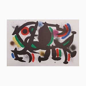 Mirò Lithographe I - Teller VIII - Original Lithographie von J. Mirò - 1972 1972