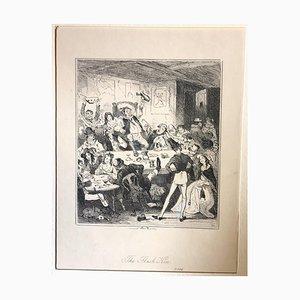The Flash Ken - Radierung von PHIZ - Mid 19th Century Mid 19th Century