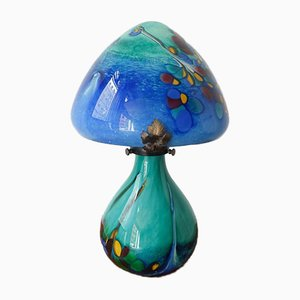 Mushroom Tischlampe im Jugendstil Stil