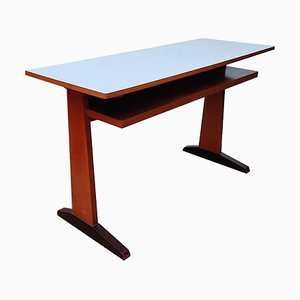 Modernist Wood & Formica Desk, 1950s