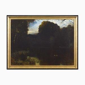 Arcadia - Oil Painting by Ferdinand Keller - 1899 1899