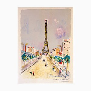 La Tour Eiffel by Maurice Utrillo, 1955 1955