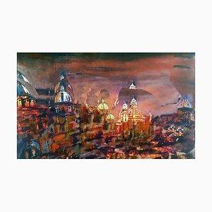 Dream Rome - Original Oil on Canvas by Laura D'Andrea - 2018 2018