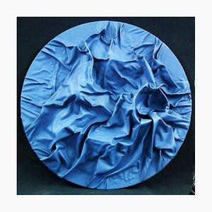 Blue Moon - Original Mixed Media by Paola Romano - 2015 2015