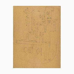 Untitled - Original Wichtige Zeichnung von Wifredo Lam - 1941 1941