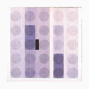 Untitled - Acrylique sur Toile par C. Nangeroni - 1974 1974