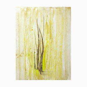 Grass Marks - wax pigments and grass blades - by Claudio Palmieri - 2010 2010