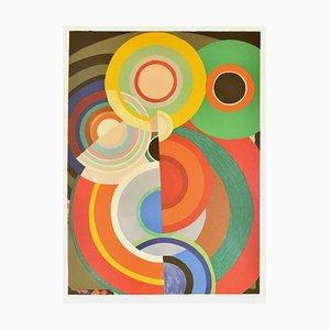 Litografía Automne - Original de Sonia Delaunay - 1965 ca. alrededor de 1965