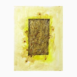 Grass Marks - Original Mixed Media by Claudio Palmieri - 2008 2008