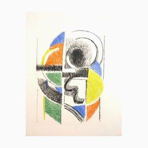 Untitled - Original Etching by Sonia Delaunay - 1966 1966