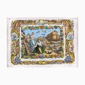 The Story of Noah - Original Complete Series of 6 Radierungen - 1768 1768