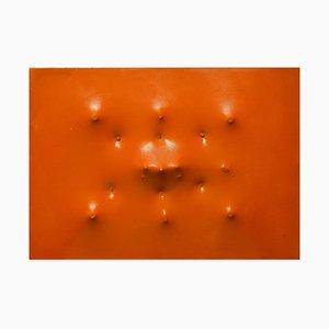 Extroversion on Orange - Emaille auf Leinwand von Giorgio Lo Fermo - 2016 2016