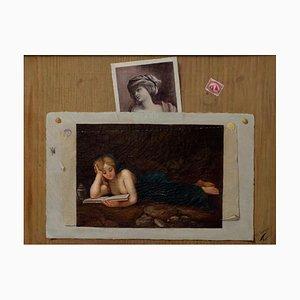 Trompe l'oeil - Öl auf Leinwand von Unknown Italian Master, 19. Jh. 1810
