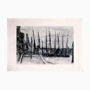 Gravure à l'Eau-Forte par James Whistler - 1859 1859