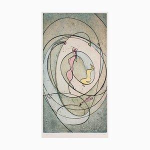 Gravure à l'Eau-Forte par Max Ernst - 1970 1970