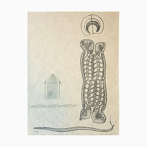 Lewis Carroll's Wunderhorn - Original Lithograph by Max Ernst - 1970 1970