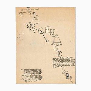Lettre de Louis Marcoussis - 1935 1935