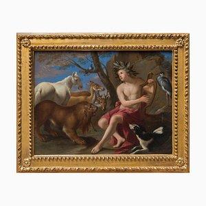 Orpheus - Óleo sobre lienzo original de Attr. Tommaso Salini - A principios del siglo XVII, principios del siglo XVII