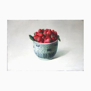 Strawberries - Original Oil on Canvas by Zhang Wei Guang - 2008 2008