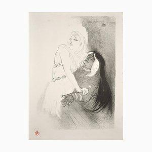 A la Renaissance: Sarah Bernhardt dans Phèdre, Original Lithograph 1893