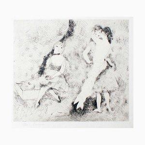 Love and Music - Original Radierung von M- Laurencin - 1920er 1920er