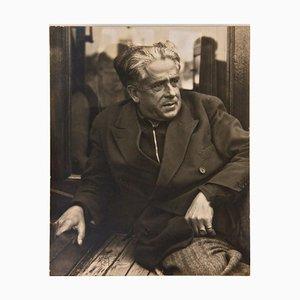 Retrato de Francis Picabia - Fotografía original de Man Ray - 1935 1935