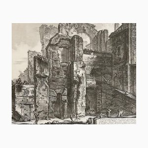 Avanzi di Antiche Terme in Albano denominate Cello Mano - by G. B. Piranesi 1764