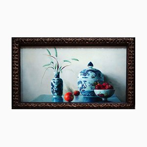 Ceramics - Original Oil on Canvas by Zhang Wei Guang - 2006 2006
