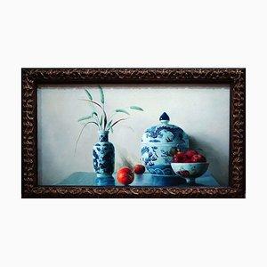 Keramik - Original Öl auf Leinwand von Zhang Wei Guang - 2006 2006