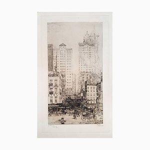 New York, Courtland Street 1908